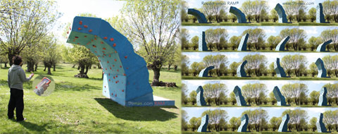 Climbing Wall: Different profiles
